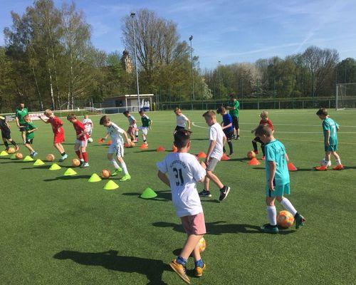 RE- Start der Sportshelden Fußballschule 18.09.2020